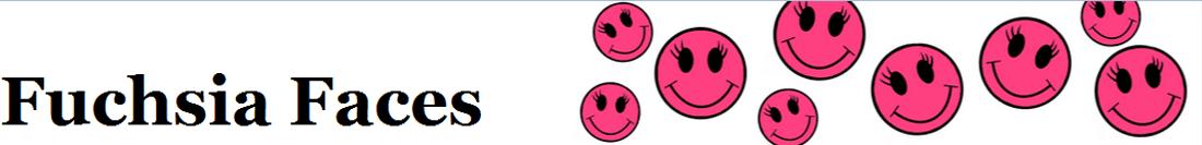Fuchsia Faces